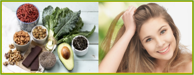Healthy Fats Food for Glowing Skin & Hair