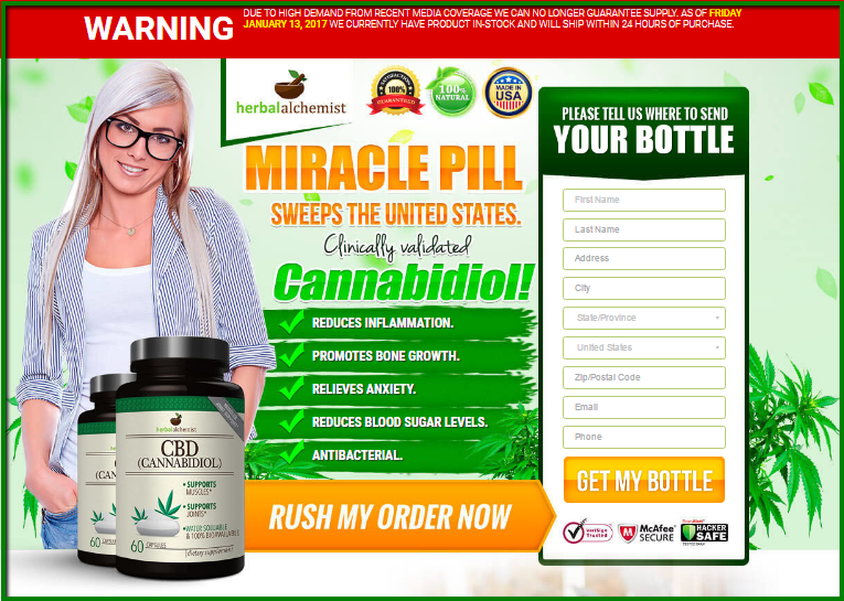 Cannabidiol Reviews