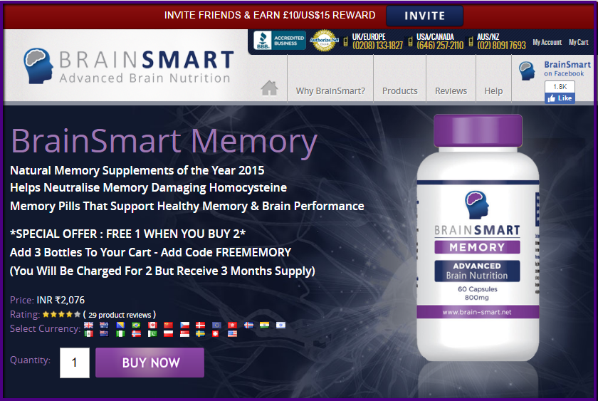 Brain Smart Memory Review
